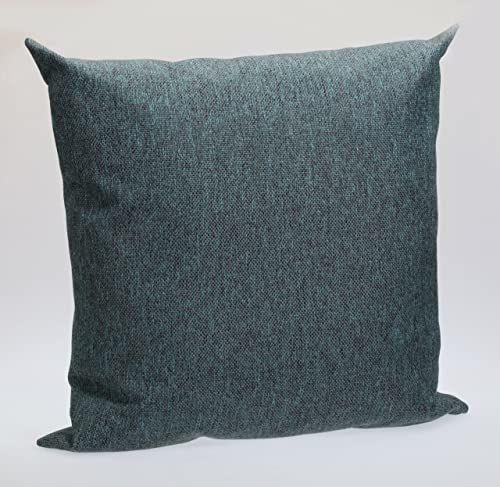 Sauermilch 1304454500027 Lodge poduszka, 45 x 45 cm, turkusowa