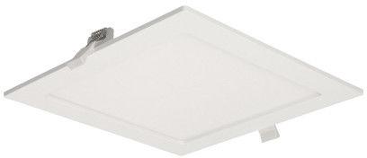 AKMAN LED 18W, oprawa downlight, podtynkowa, kwadratowa, 1300lm, 4000K, biała, wbudowany zasilacz LED
