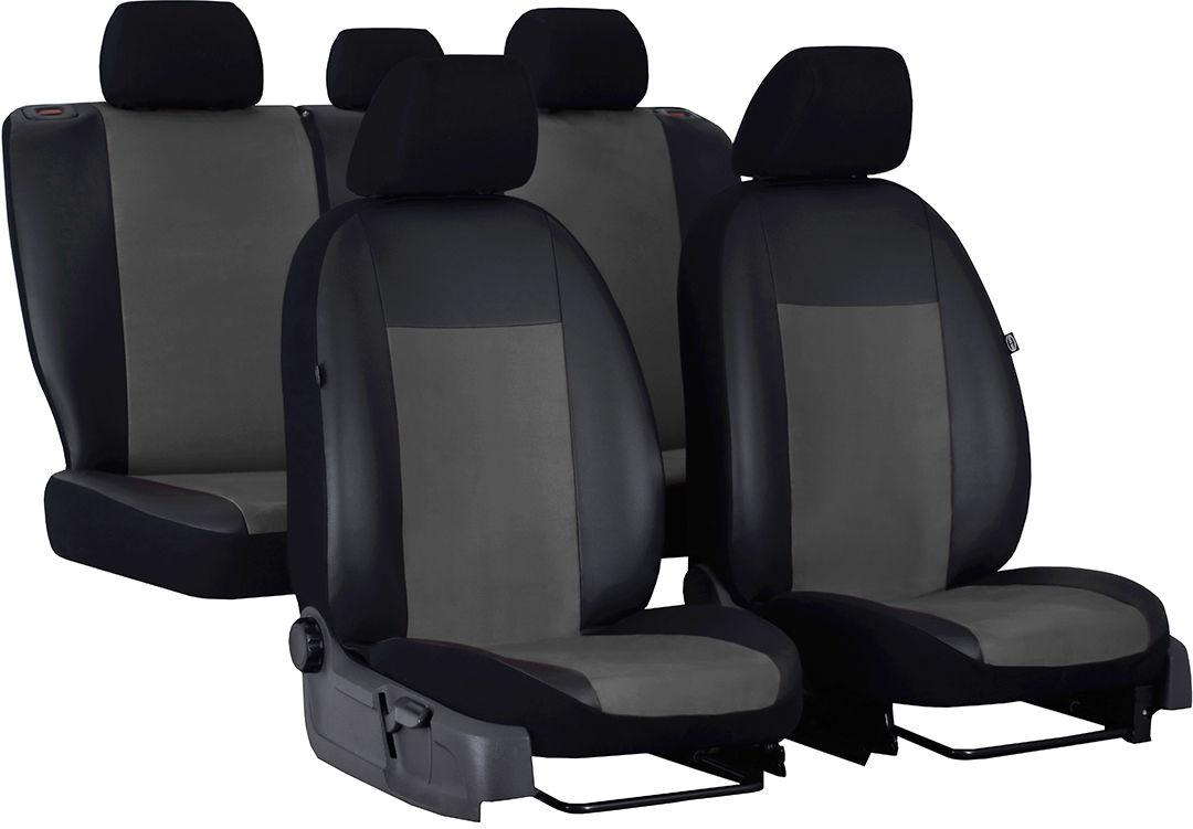 Pokrowce samochodowe do Ford Fusion van, Unico, kolor ciemnoszary