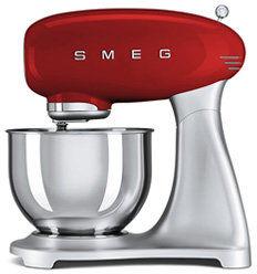 Smeg - Mikser SMF02RDEU - 10% rabatu przy zakupie min. 2 produktów SMEG, wpisz kod smeg10