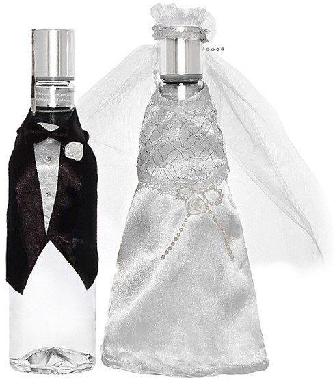 UBRANKO na Wódkę ubranka Młoda Para wesele UW3-008