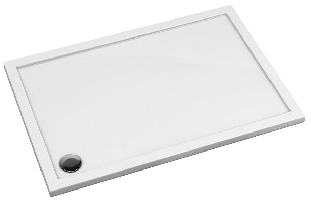Omnires Merton brodzik akrylowy prostokątny 80x140 cm Merton80/140/P