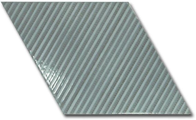 Rhombus Wall Ash Blue Bambu 15,2x26,3