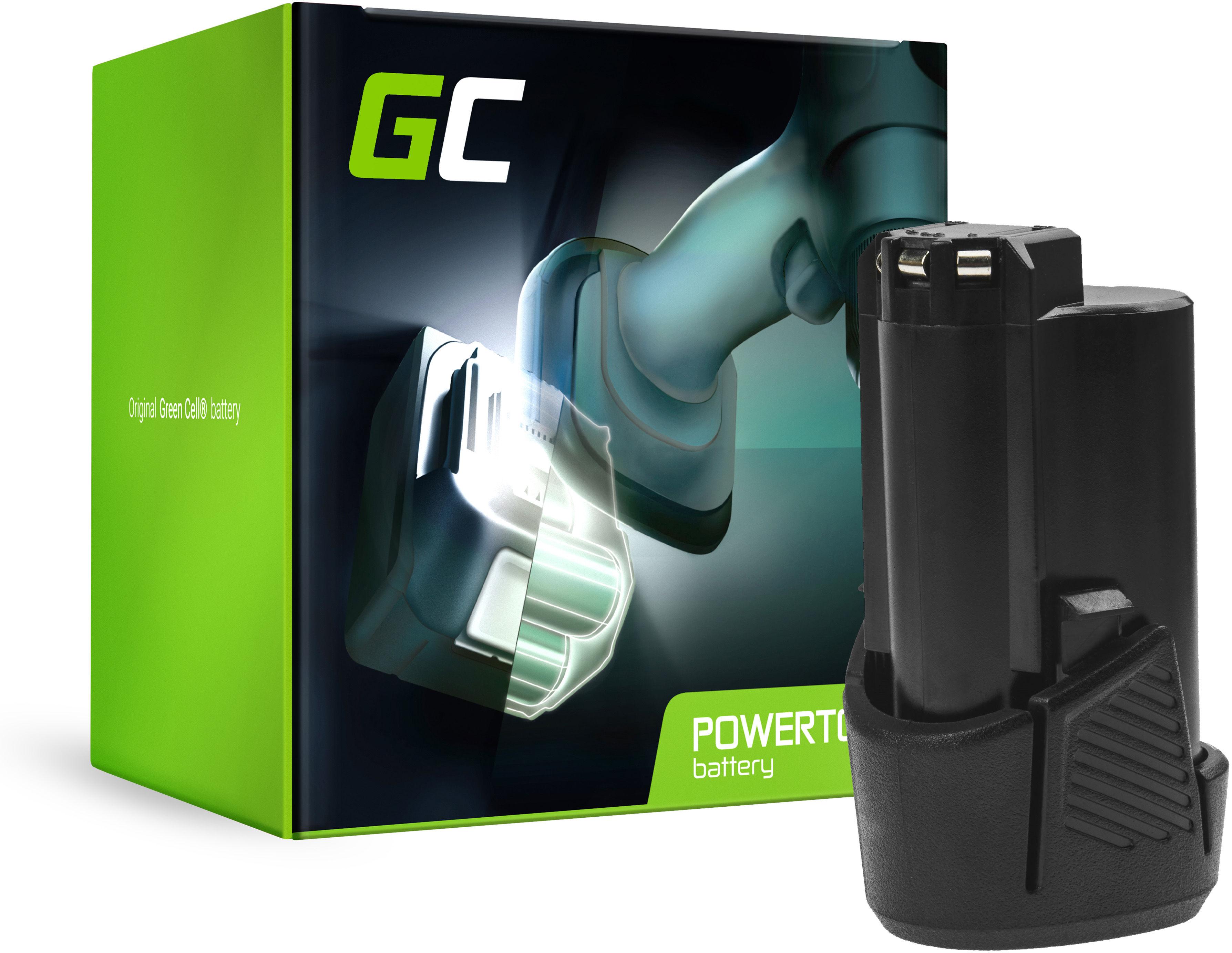 Bateria Green Cell (1.5Ah 12V) BSPL1213 B-1013L do RYOBI RCD1201 RCD12011L RCD12012L RCD12011L RCD RMT 1201 R12DD-LL13S