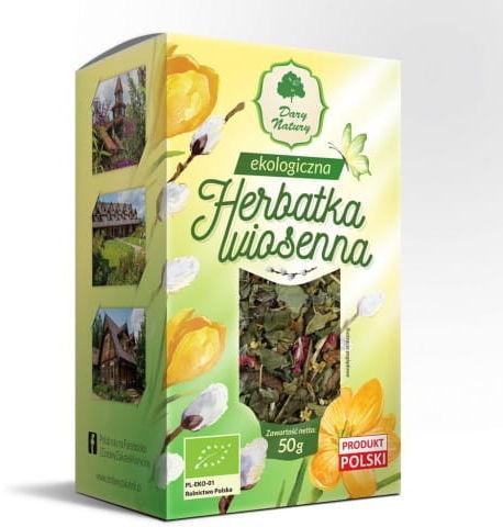 Dary Natury Herbatka Wiosenna eko 50g
