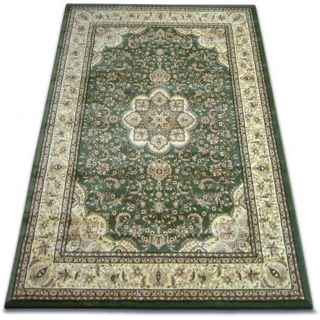 Dywan ROYAL AGY wzór 0521 ciemny zielony 100x200 cm