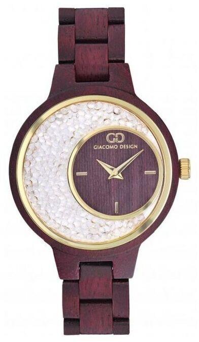 Zegarek GIACOMO DESIGN Cristalli In Pietra GD28001