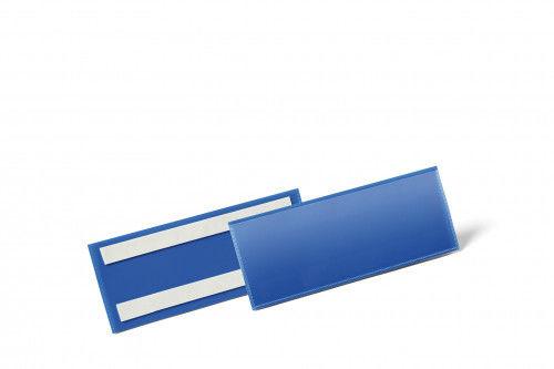 Kieszeń magazynowa samoprzylepna 1/2 A5 pozioma DURABLE niebieska 50szt. 1794 07