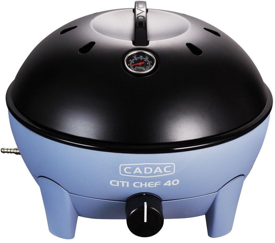 Grill gazowy stołowy CADAC City Chef 38,5cm BŁĘKITNY