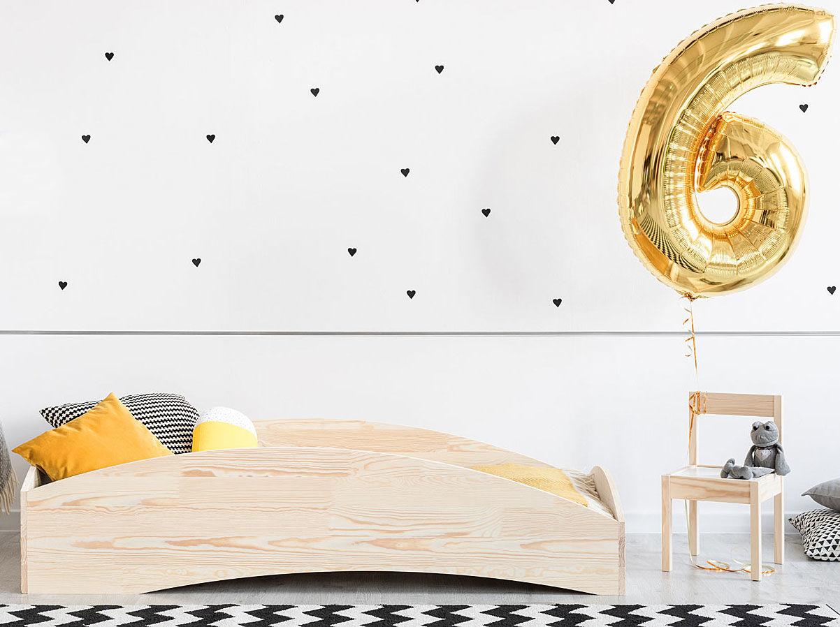 Drewniane łóżko dziecięce Lexin 7X - 21 rozmiarów