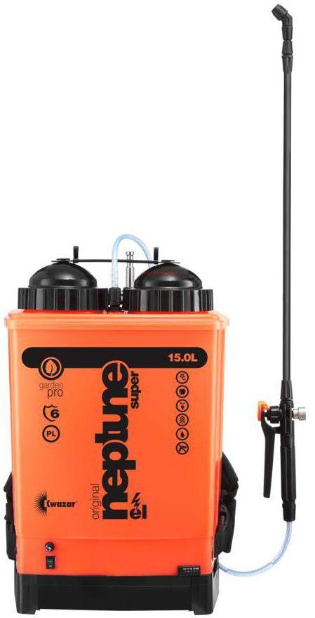 Opryskiwacz akumulatorowy 15 l 7,2Ah 3,5bar NEPTUN EL KWAZAR