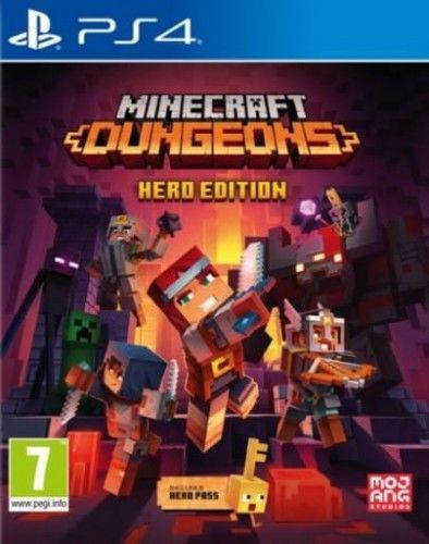Minecraft Dungeons Hero Edition PS4 Używana