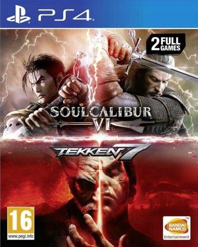 Soulcalibur VI + Tekken 7 PS4 Używana