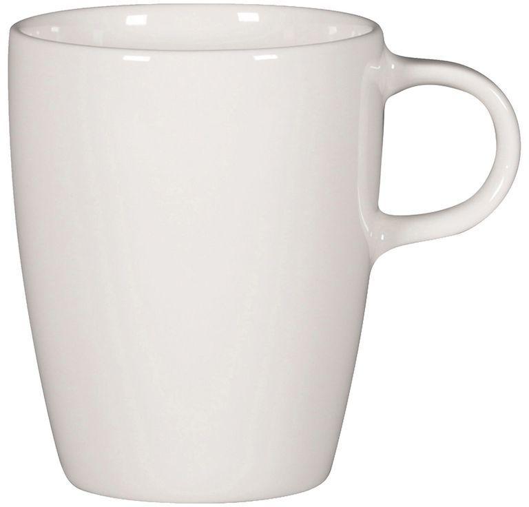 Filiżanka porcelanowa STONE - 230 ml biała