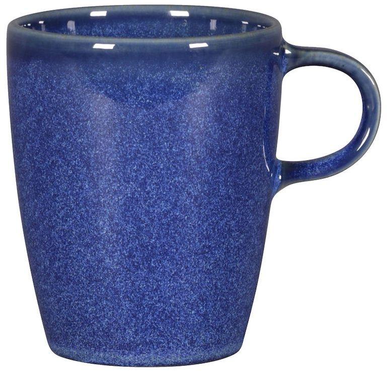 Filiżanka porcelanowa STONE - 230 ml niebieska