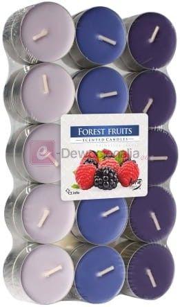 Podgrzewacze zapachowe 30szt - Owoce Leśne FOREST FRUIT tealight