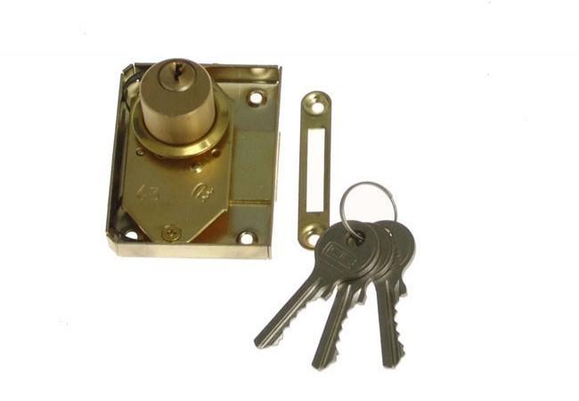 Zamek meblowy patentowy Metalplast Częstochowa 30 K lewy
