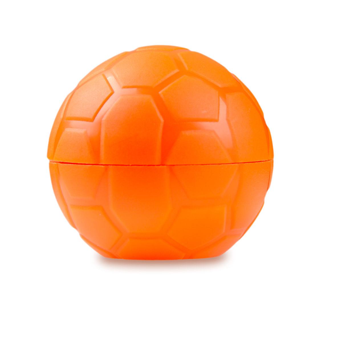Pojemnik na soczewki Football Case - pomarańczowy