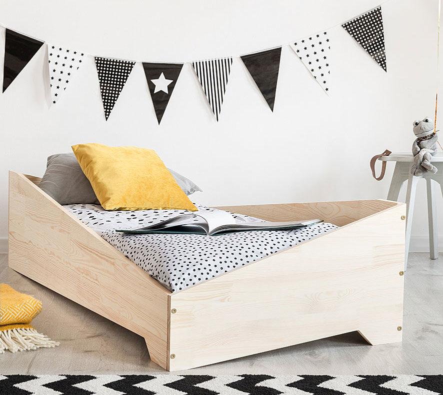 Drewniane łóżko dziecięce Lexin 8X - 21 rozmiarów