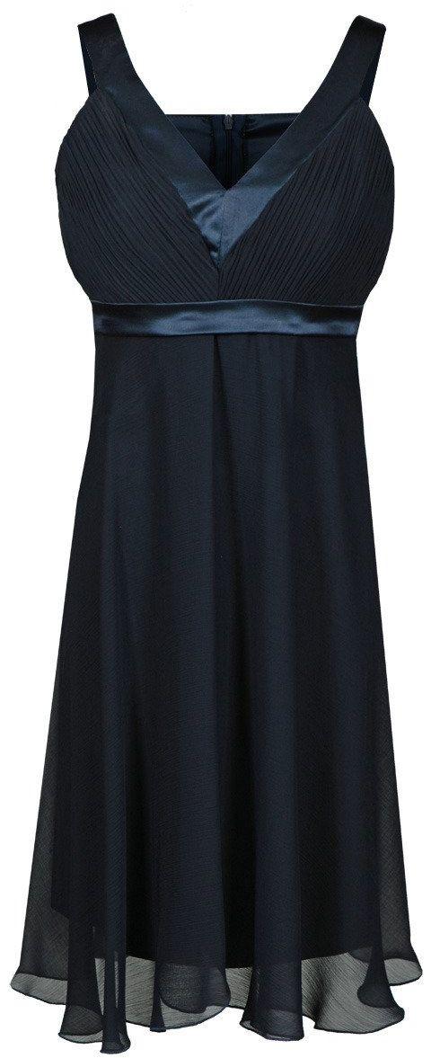 Sukienka FSU152 GRANATOWY
