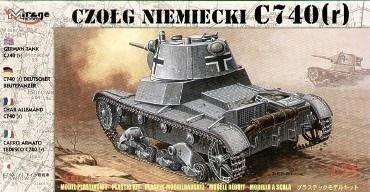 Czołg C740r Niemiecki