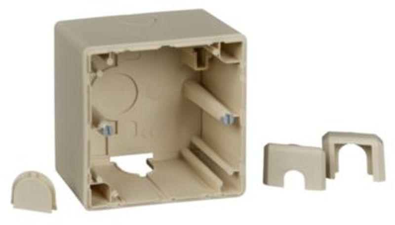 Merten M-Smart Puszka natynkowa pojedyncza kremowy MTN512144