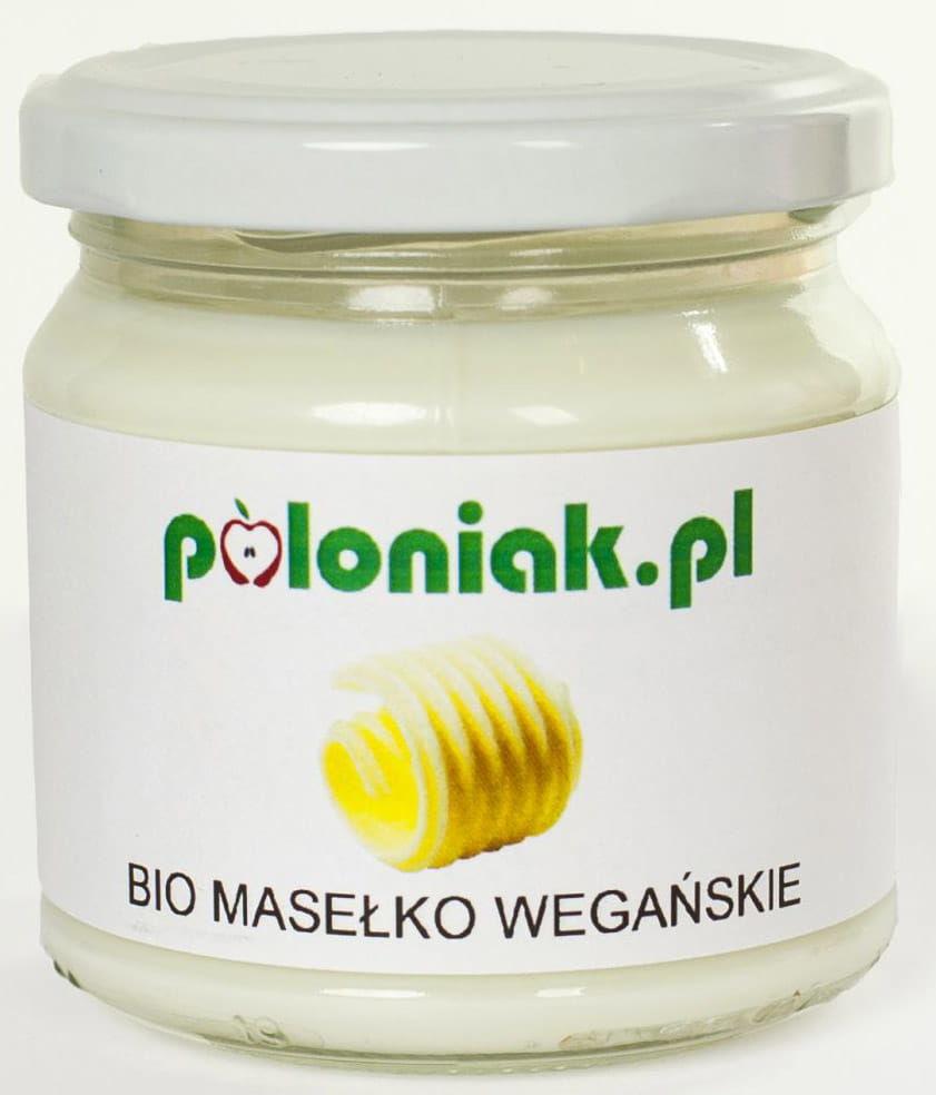 Masełko wegańskie BIO - Poloniak - 180 ml