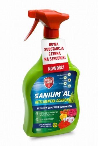 Sanium al  zwalcza szkodniki roślin  1 l protect garden