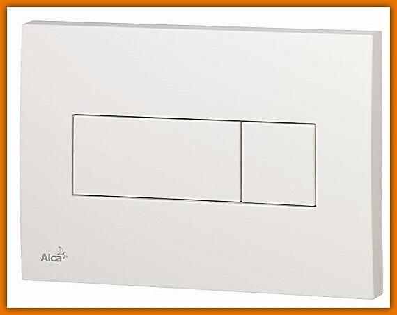 Przycisk spłuczki podtynkowej, biały M370