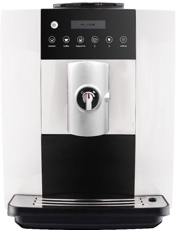Ekspres do kawy automatyczny biały