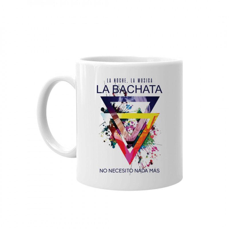 La noche La musica La BACHATA - kubek z nadrukiem