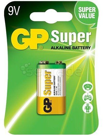 Bateria alkaliczna GP Super Alkaline 6LR61/9V
