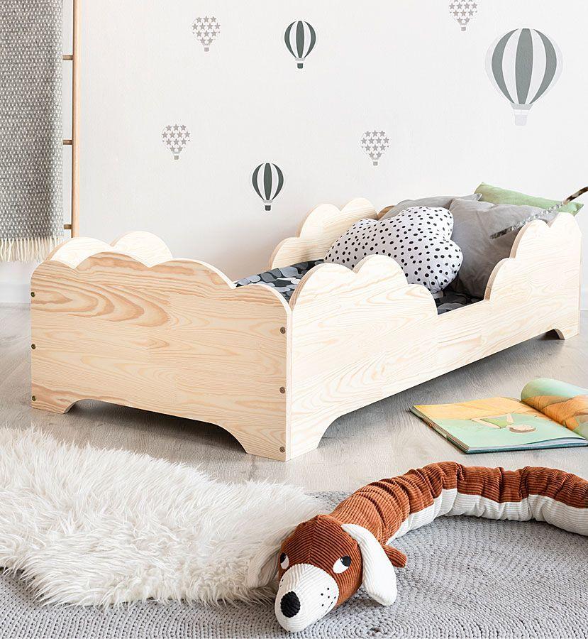 Drewniane łóżko dziecięce Lexin 11X - 21 rozmiarów