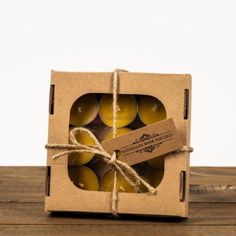 Zestaw podgrzewaczy woskowych - tealight mały 9 sztuk