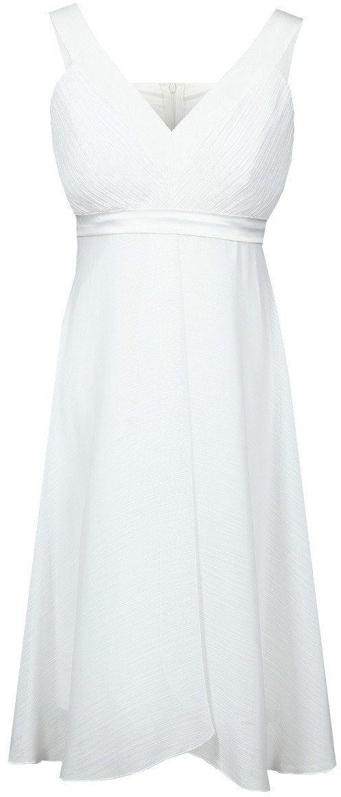 Sukienki Sukienka Suknie FSU152 BIAŁY