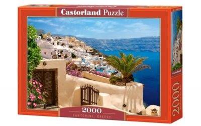 Puzzle Castorland 2000 - Santorini, Greece