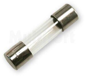 Wkładka topikowa szklana 5x20mm zwłoczna 250V/0,16A