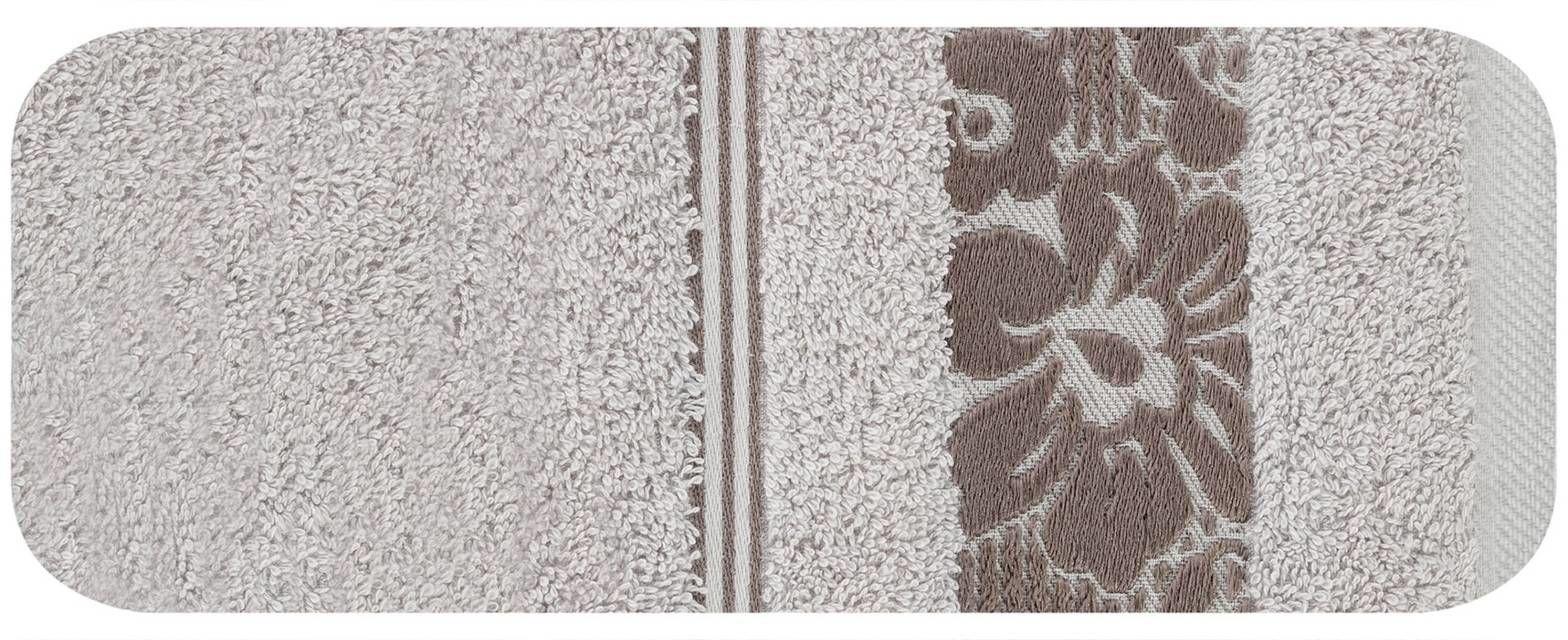 Ręcznik Kąpielowy Eurofirany Sylwia 07 500 g/m2 Lila 50x90
