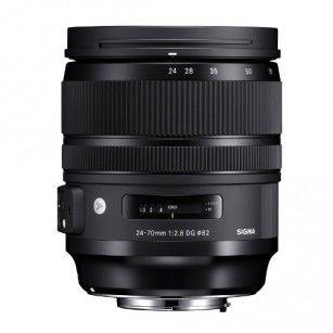 Obiektyw Sigma 24-70 mm f/2.8 A DG OS HSM Canon RATY 0%