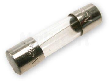 Wkładka topikowa szklana 5x20mm zwłoczna 250V/0,1A