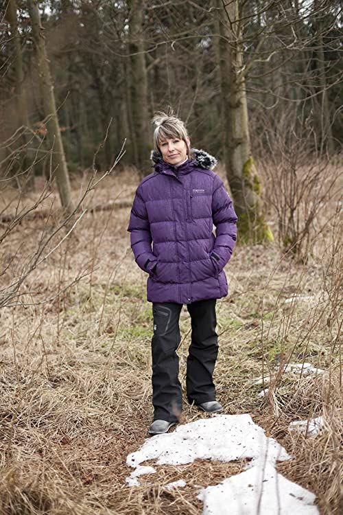 Deproc Active damska kurtka zimowa i zimowa parka fioletowy Violett (berry 690) 34