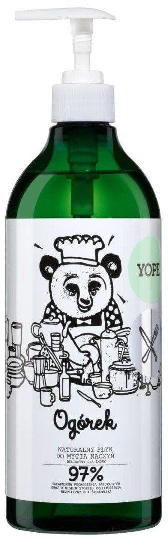 Yope Płyn do Mycia Naczyń - Ogórek 750 ml