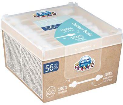 Canpol Babies bezpieczne patyczki higieniczne dla niemowląt 56 sztuk [3/115]