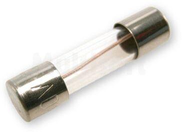 Wkładka topikowa szklana 5x20mm zwłoczna 250V/0,25A