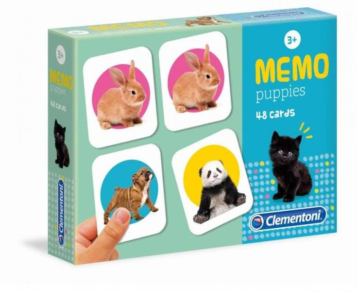 Memo Puppies - Clementoni
