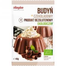 Budyń czekoladowy bezglutenowy BIO 40g Amylon