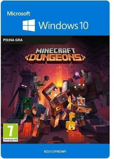 Minecraft Dungeons [kod aktywacyjny] PC Dostęp po opłaceniu zakupu
