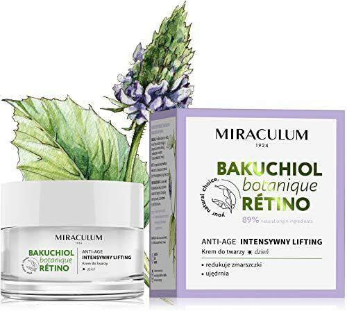 Miraculum Bakuchiol Anti Aging, Liftingujący krem  na dzień SPF  50 ml