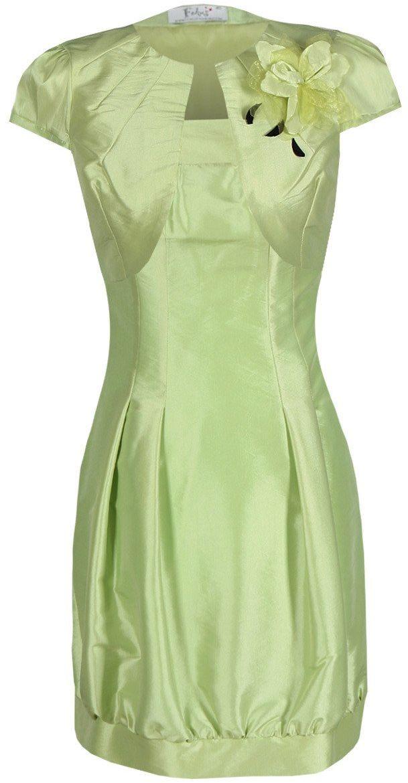 Sukienka FSU182 ZIELONY