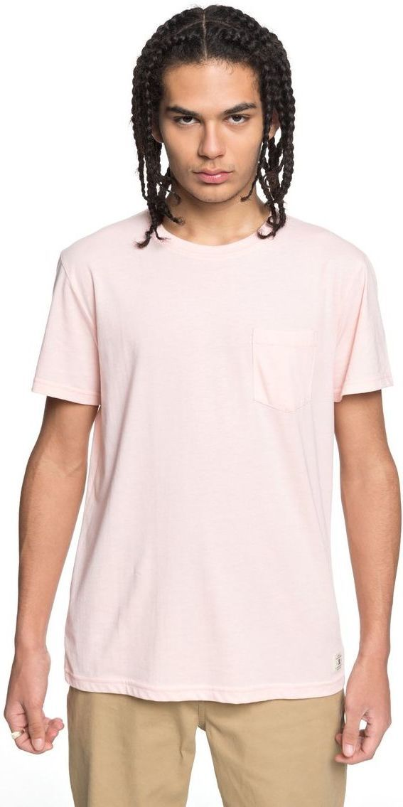 t-shirt męski DC BASIC POCKET 2 English Rose - MDJ0